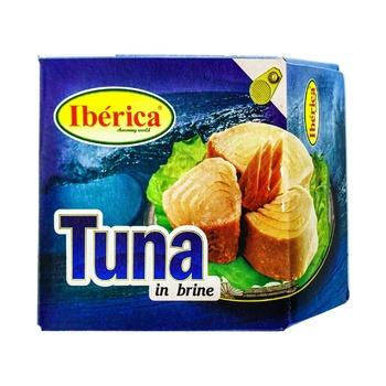 Тунец Ibericа в собственном соку 160г