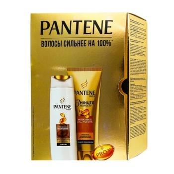 Набор подарочный Pantene Интенсивное восстановление Шампунь 250мл, бальзам 200мл