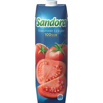 Сок Sandora томатный с солью 0,95л - купить, цены на Фуршет - фото 3