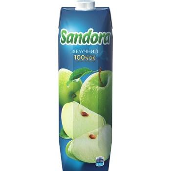 Сок Sandora яблочный 950мл - купить, цены на Фуршет - фото 3