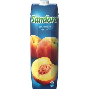 Нектар Sandora персиковый 0,95л - купить, цены на Novus - фото 3