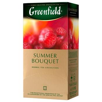 Чай травяной Greenfield Summer Bouquet в пакетиках 2г x 25шт