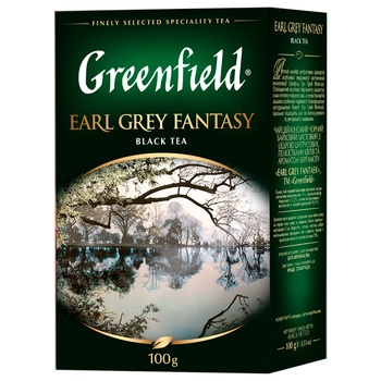 Greenfield Earl Grey Fantasy With Bergamot Black Tea 100g - buy, prices for CityMarket - photo 1