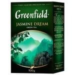 Чай Greenfield Jasmine Dream зелений з жасміном листовий 100г