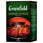 Чай черный Greenfield Kenyan Sunrise 100г