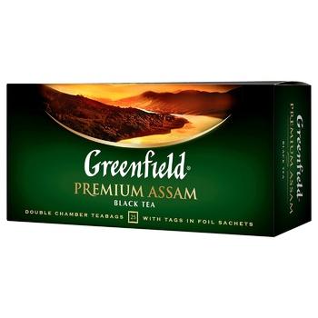 Greenfield Premium Assam Black Tea 2g(25pcs - buy, prices for EKO Market - photo 1