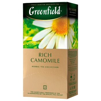 Чай трав'яний Greenfield Ромашка в пакетиках 1,5г 25шт