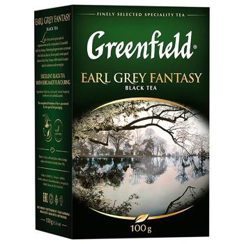 Чай черный Greenfield Earl Grey Fantasy с бергамотом 100г - купить, цены на ЕКО Маркет - фото 2