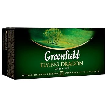 Чай зеленый Greenfield Flying Dragon 2г*25шт - купить, цены на СитиМаркет - фото 2