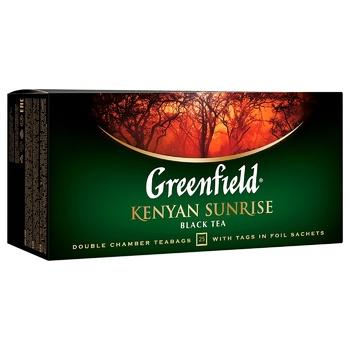 Чай чорний Greenfield Kenyan Sunrise 2г*25шт - купити, ціни на ЕКО Маркет - фото 2
