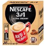 Напиток кофейный NESCAFÉ® 3-в-1 Ultra Creamy растворимый стик 20*13г