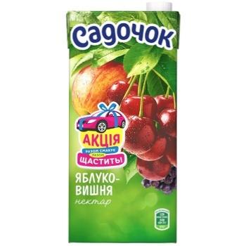 Sadochok Apple-cherry Nectar 0,95l - buy, prices for CityMarket - photo 2
