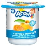 Творожок Агуша абрикос-морковь для детей с 8 месяцев 3,9% 100г - купить, цены на СитиМаркет - фото 2
