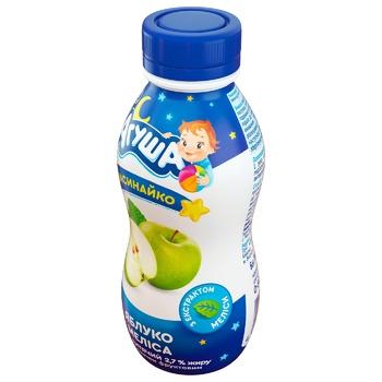 Йогурт Агуша Засинайко яблуко-меліса для дітей з 8 місяців 2,7% 200г - купити, ціни на ЕКО Маркет - фото 2