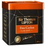 Чай Ліптон Сір Томас Файн Цейлон чорний 100г - купити, ціни на CітіМаркет - фото 2