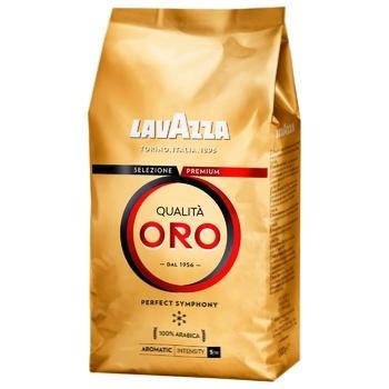 Кофе Lavazza Qualita Oro 100% арабика в зернах 1кг