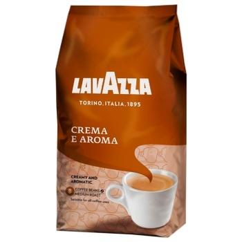 Кофе Lavazza Crema e Aroma в зернах 1кг - купить, цены на МегаМаркет - фото 1