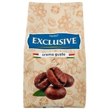 Кофе Primo Exclusive Crema gusto в зернах 500г - купить, цены на Ашан - фото 3