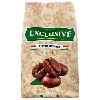 Primo Exclusive Fresh Aroma Coffee Beans 500g - buy, prices for Auchan - photo 3