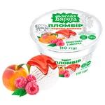 Belaya Byarioza Plombir Peach-Raspberry Ice-Cream 110g
