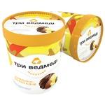 Морозиво Три Ведмеді Лимонно-шоколадне двошарове 500г