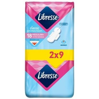 Libresse Classic protection regular pads 20 pieces - buy, prices for CityMarket - photo 3