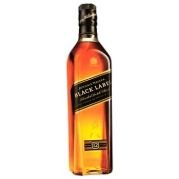 Johnnie Walker Black label 12 yrs whisky 40% 0.7l - buy, prices for Furshet - image 1