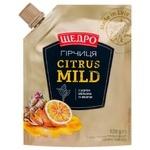 Горчица Щедро Citrus Mild 120г
