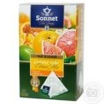 Чай зелений Sonnet Tea Poetry цитрусовий мікс 20шт 2г