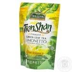 Green tea Tian Shan with lemon and lime 80g Ukraine