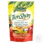 Зелений чай Тянь-Шань з тропічними фруктами 80г Україна