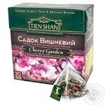 Чай Тянь-Шань Садок Вишневый черный и зеленый 20шт 40г