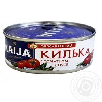 Килька Kaija обжаренная в томатном соусе 240г - купить, цены на Novus - фото 1
