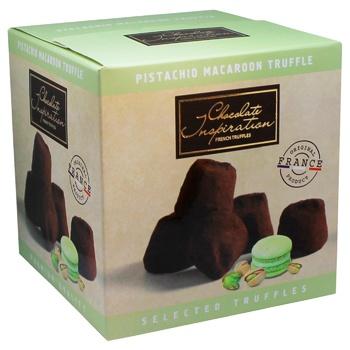 Конфеты Chocolate Inspiration Французские трюфели Фисташковый макарон 200г