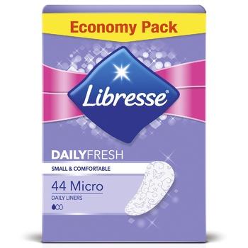 Прокладки Libresse Daily fresh micro гигиенические 10шт - купить, цены на Восторг - фото 1