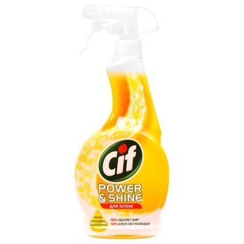 Cif Kitchen Cleaner 500ml - buy, prices for Novus - image 1