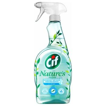 Средство для уборки ванной Cif Могучая природа с уксусом 750мл - купить, цены на Ашан - фото 1