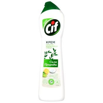 Means Cif to acrylic surfaces 450ml - buy, prices for Auchan - image 1