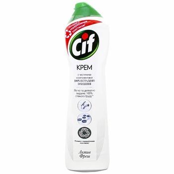 Крем для чистки Cif Active fresh Универсальный 500мл - купить, цены на Метро - фото 1