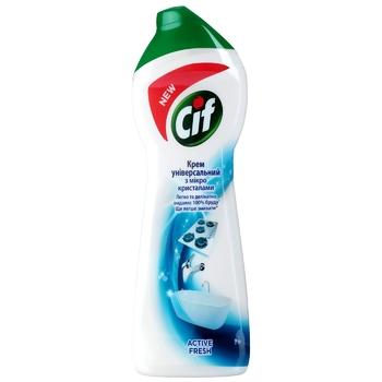 Cif Active fresh universal cream-cleaner 250ml - buy, prices for CityMarket - photo 1