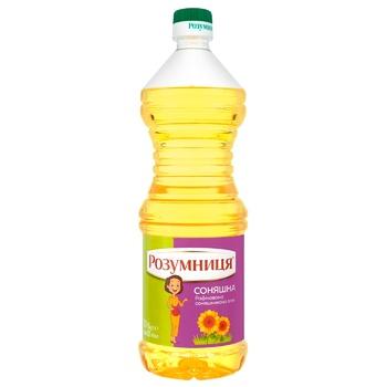 Rozumnytsya sunflower refined oil 820ml