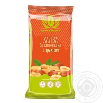 Халва соняшникова з арахісом Дружківська 300г - купити, ціни на Novus - фото 1