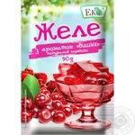 Eko cherry for desserts jelly 90g
