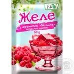Eko raspberry for desserts jelly 90g