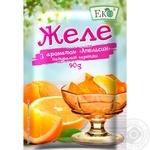 Eko orange for desserts jelly 90g