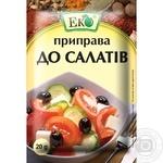Приправа Эко для салатов 20г - купить, цены на Ашан - фото 1