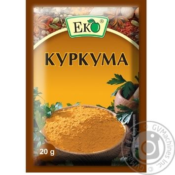 Eco Turmeric 20g - buy, prices for MegaMarket - image 1