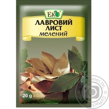 Eko ground bay leaf spices 20g - buy, prices for Novus - image 1