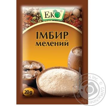 Имбирь Эко молотый 20г - купить, цены на Фуршет - фото 1
