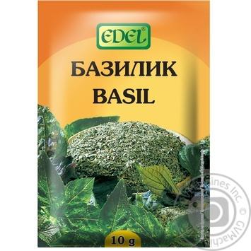 Приправа Edel Базилик 10г - купить, цены на Novus - фото 1